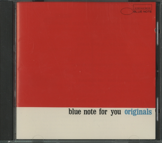 Blue Note For You [originals]