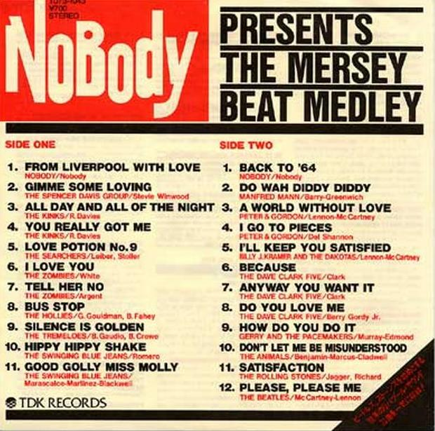 THE MERSEY BEAT MEDLEY